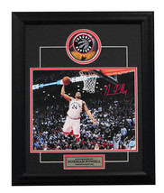 Norman Powell Toronto Raptors Autographed Game 5 Dunk vs Pacers 19x23 Frame - $125.00