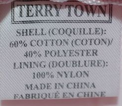 Terry Town CBW001 Waffle Weave Cosmetic Bag Color Hot Pink image 4