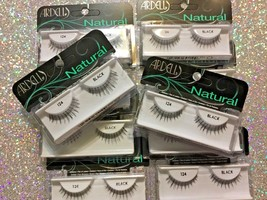 Ardell Natural lashes false 124 Black eyelashes  LOT of 10 pairs New - $23.36