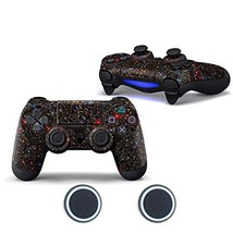 Sololife PS4 Controller Skin with Two Silicone Thumb Grip Caps for Sony (Stars) - $10.14