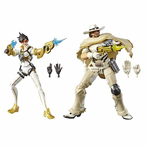 """Hasbro Overwatch Ultimate Series Tracer & McCree Fual Pack 6"""" Collectible Action - $26.45"""