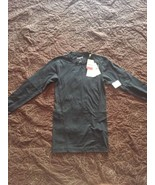 Reebok Black Training Compression Long Sleeve Shirt Size Small - $18.05