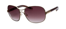 CHLOE CL2208 Made in France Womens Gold Frame Brown Gradient Lens Sungla... - £113.63 GBP