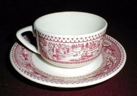 MEMORY LANE Ironstone Cup & Saucer~8 Available   ROYAL CHINA - $7.99