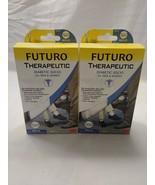 Futuro Therapeutic Diabetic Socks for Men and Women medium White Crew 2 Pair - $17.50