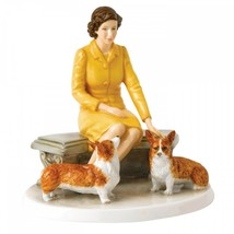 Royal Doulton Her Majesty At Home HN 5807 Limited Edition of 2000 New - $185.13
