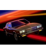 1983 Chevy Monte Carlo sky | 24X36 inch poster | Great looking! - $21.77