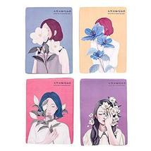 Girls Oil Blotting Paper Oil Control Sheets for Face Random Color, 500 Pieces