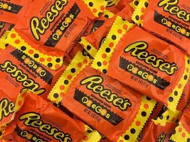 Reese's Peanut Butter Cups Stuffed with Reese's Pieces Candy Milk Chocol... - $28.12