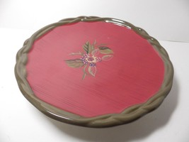 "2 TRACY PORTER OCTAVIA HILL 8"" Red  Salad Plates - $32.18"