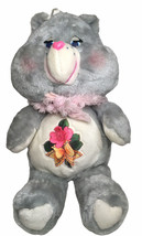"Vtg Care Bears Grams With Shawl 1983 Plush 15"" Original Care Bears Heart... - $92.02"