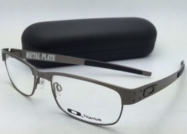 New OAKLEY Eyeglasses METAL PLATE OX5038-0655 55-18 140 Brushed Chrome Frames