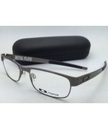 New OAKLEY Eyeglasses METAL PLATE OX5038-0655 55-18 140 Brushed Chrome F... - $249.99