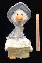 Cuddle Barn Talking Mother Goose Plush Animated Recites Nursery Rhymes W... - $14.10