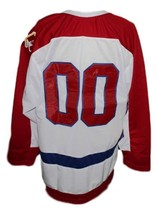 Custom Name # Brooklyn Americans Retro Hockey Jersey New White Any Size image 2