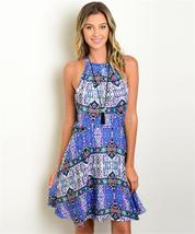 Women's Casual Sleeveless Printed Summer Dress - $25.00