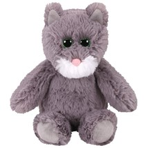 "Pyoopeo Ty Attic Treasures 13"" 33cm Kit the Grey Cat Plush Medium Soft F... - $10.99"