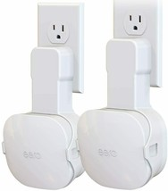 Upgraded Wall Mount Holder for EERO Mesh WiFi Router, Fits for Both 15W and 24W