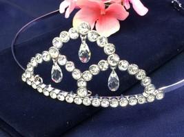 Authentic Swan Signed Swarovski Almira Tiara 851887 Bridal Prom - $129.00