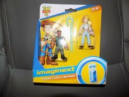 Imaginext Combat Carl Bo Peep Disney Toy Story 4 Figure Fisher Price Bra... - $18.00
