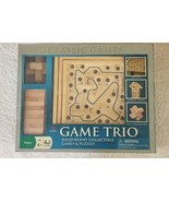Cardinal Solid Wood, 3 Game Set - New - $20.98