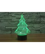 Phantom Lamps Christmas Tree 3D LED Illusion Lamp - $29.35