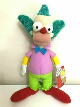 """Large Krusty the Cown Plush Toy Simpsons.16"""" Licensed. NEW.  - $19.59"""