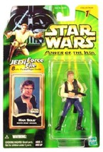 Star Wars Power of the Jedi Han Solo Death Star Escape Collection 1.04 C... - $10.09