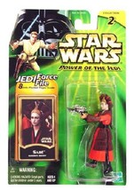 Star Wars Power of the Jedi POTJ Sabe Queen's Decoy Collection 2 .04 C9 ... - $11.43