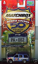 Matchbox Across America 002 Pennsylvania Chevy Tahoe PD - $10.93
