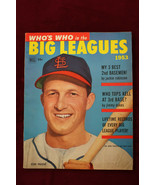1953 Whos Who In The Big Leagues Stan Musial Cover Cardinals  - $38.61