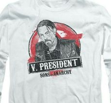 "Sons of Anarchy ""V. President"" TV series long sleeve graphic t-shirt SOA117 image 3"