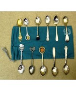 Collection of Miniature Spoons (11) - $57.66