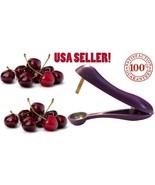 Cherry Pitter Olive Stoner USA Sell- Corer, Hand Held Seed Remover Cherr... - $5.93