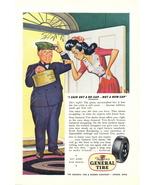 1944 General Tire Kraft System new cap recapping print ad - $10.00