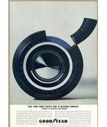 1962 Good Year Captive Air Double Eagle Tire print ad - $10.00