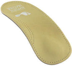 Arch Supports Three Quarter Length Insoles Leather upper - $8.95+