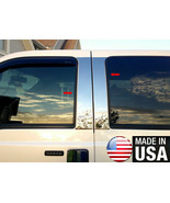 For 2000-2005 Ford Excursion 4PC Stainless Steel Pillar Post Molding - $79.00
