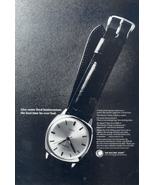 1965 The Electric Timex men's strap wristwatches print ad - $10.00