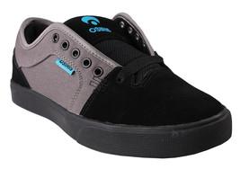 Osiris Black/Cyan Men's Decay Skateboarding Shoes image 1