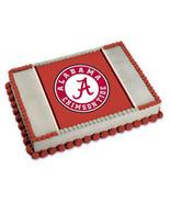 University of Alabama Edible Image Cake Topper - $8.99