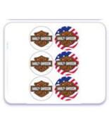 Harley-Davidson Image Cupcake Topper - $8.99