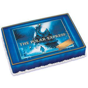 Polar Express Cake Topper