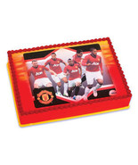 Manchester United Edible Image Cake Topper - $8.99