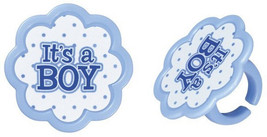 It's a Boy Cupcake Rings - €2,56 EUR