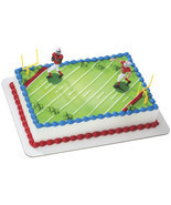 Football Touchdown Cake Decoration - $8.99