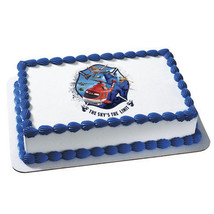 PLANES 2-Fire and Rescue Sky's The Limit  Edible Image Cake Topper - $8.99