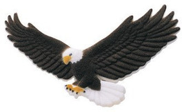 Eagle in Flight Edible Sugar Cupcake Toppers - €16,26 EUR