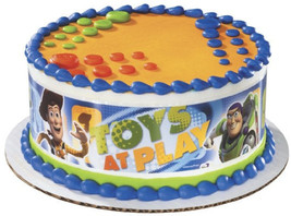 2 sets-first class mail-Toy Story3-Toys at Play Designer Prints Edible I... - €15,40 EUR