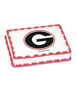 University of Georgia Edible Image Cake Topper - $8.99